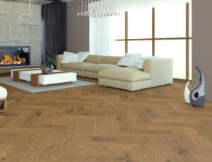 herringbone engineered wood flooring